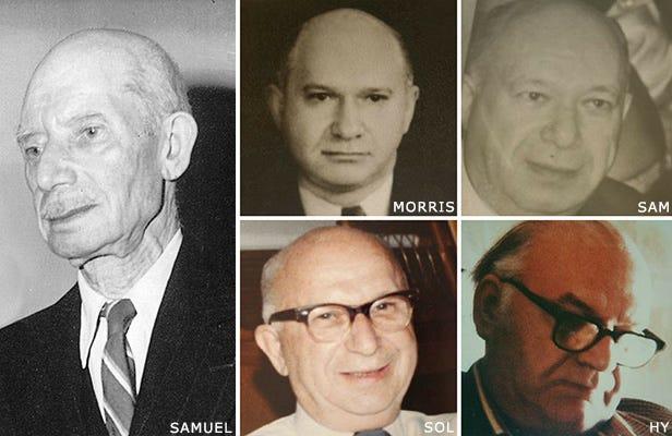 1902 to 1918 Samuel Kravet and Sons