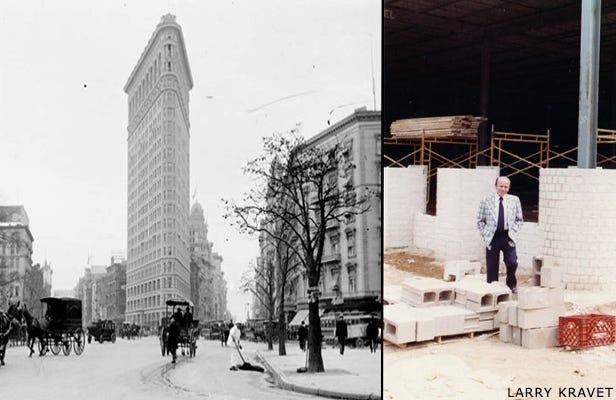 1938 to 1949 Manhattan & Larry Kravet
