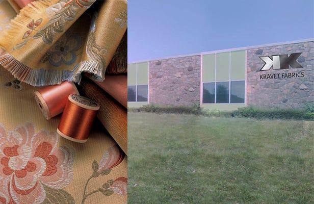 1960 to 1963 Kravet Fabrics, Inc. and Woodbury Location