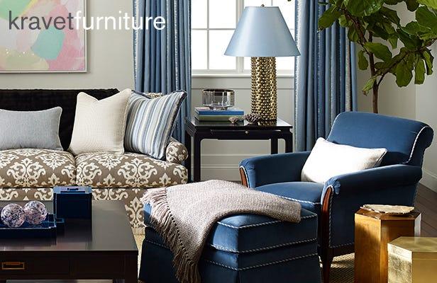 1992 to 1993 Kravet Furniture and Mark Hampton