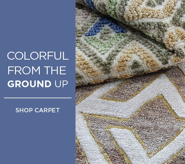 Colorful From the Ground Up - Shop Carpet