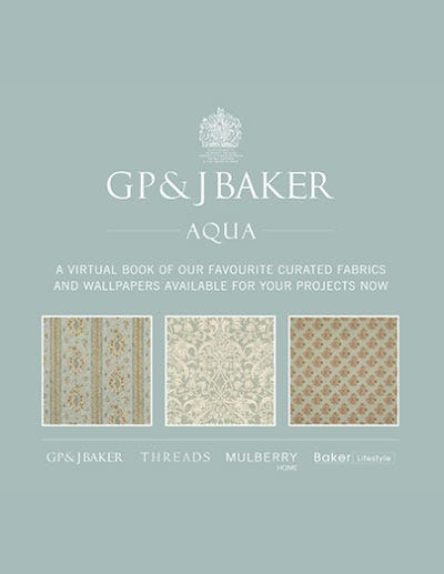 Aqua - GP&J Baker Color Books