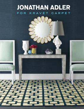 Jonathan Adler for Kravet Carpet Brochure