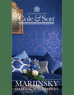 Mariinsky Damask Wallpapers