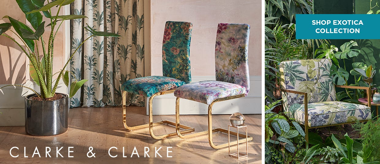 Clarke & Clarke - Shop Exotica Collection