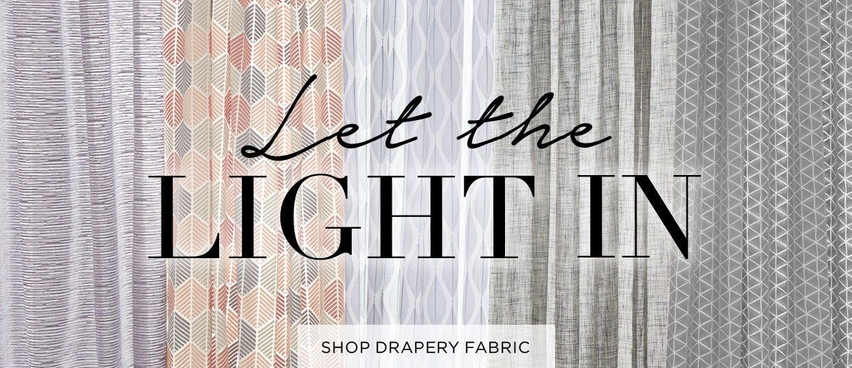 Shop Drapery Fabrics