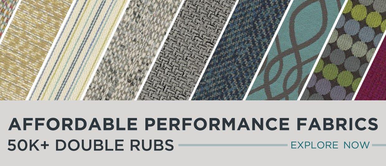 Explore Now - Affordable Performance Fabrics 50k Double Rubs