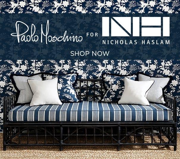 Shop Paolo Moschino for Nicholas Haslam