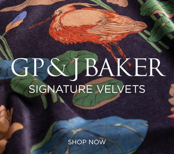 GP&J Baker Signature Velvets