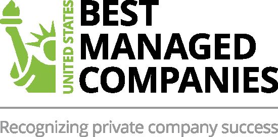 us best managed companies logo