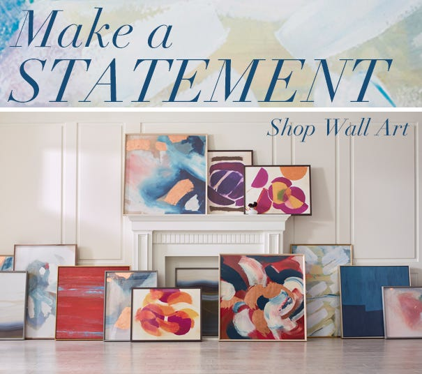 Make a Statement - Shop Wall Art