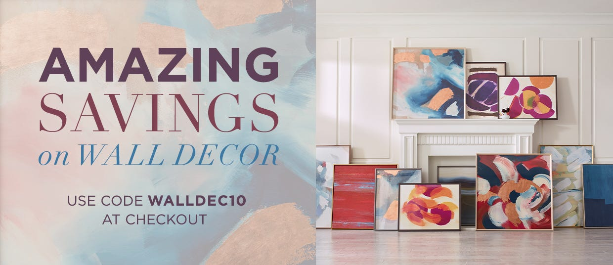 Amazing Savings on Wall Decor