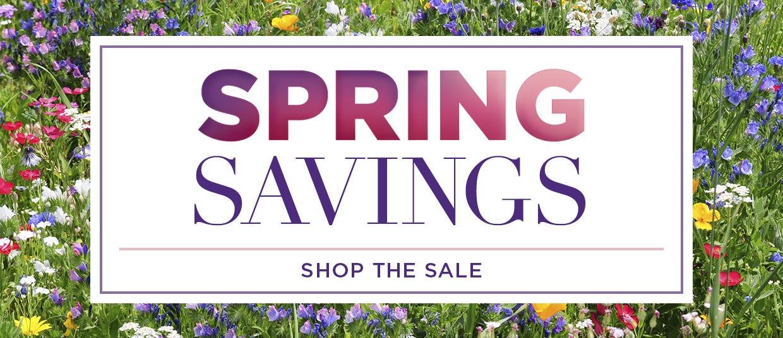 Shop the Spring Sale